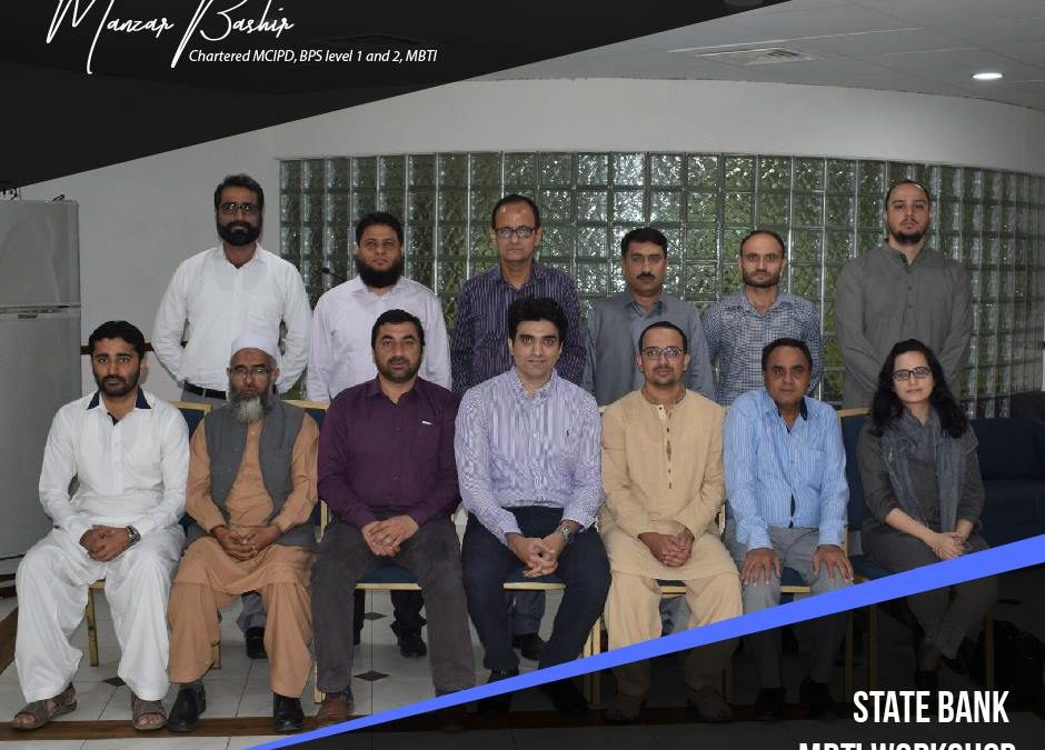 MBTI Workshop at State Bank of Pakistan