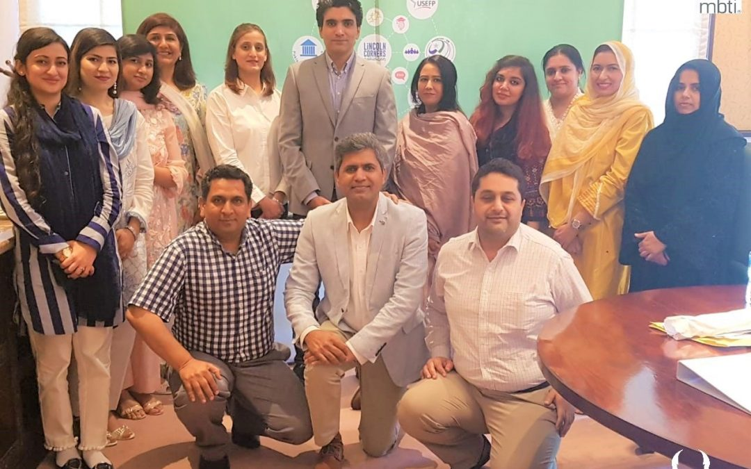 MBTI Personality Test & Workshop US Embassy Pakistan 2019